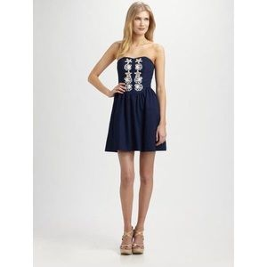 Lilly Pulitzer Navy Mayfield Dress